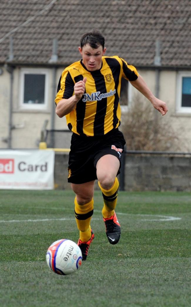 David Gormley in action during his days with Auchinleck Talbot
