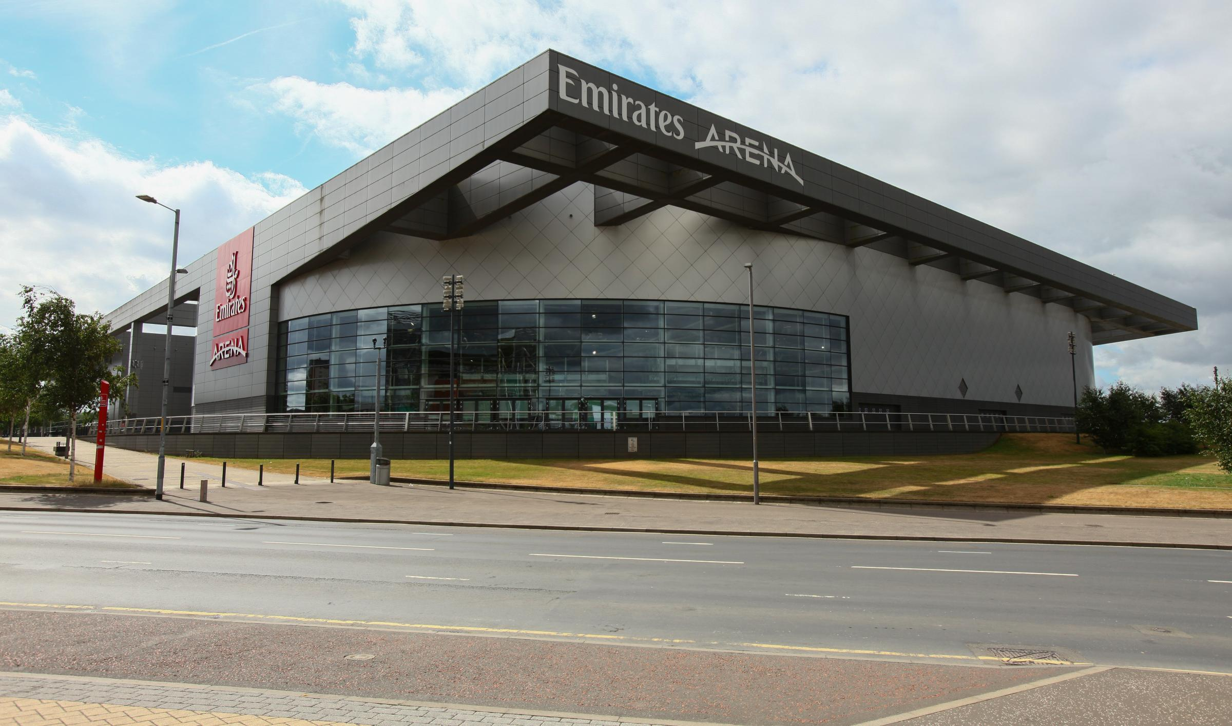 The Emirates Arena is one of the centres affected
