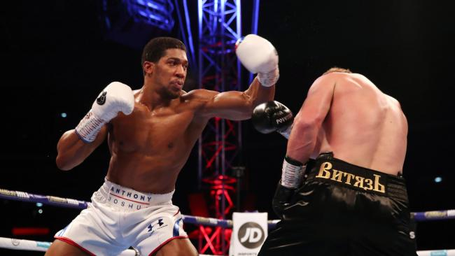 Heavyweight champion of the universe: Sports stars and celebrities on Joshua win