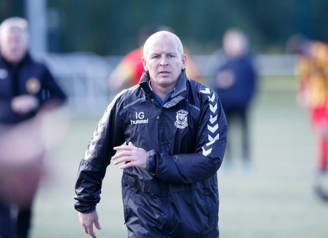Benburb manager Paul Lovering