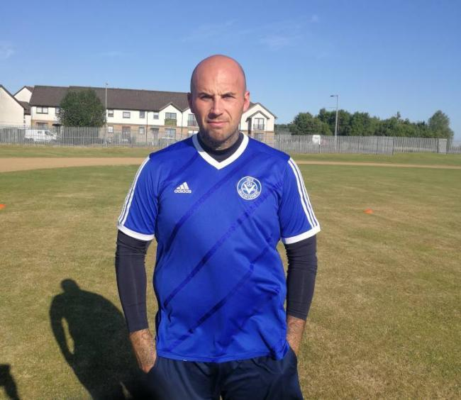 Don Scott was man of the match for Vale of Clyde when they played the first game against Blantyre Vics