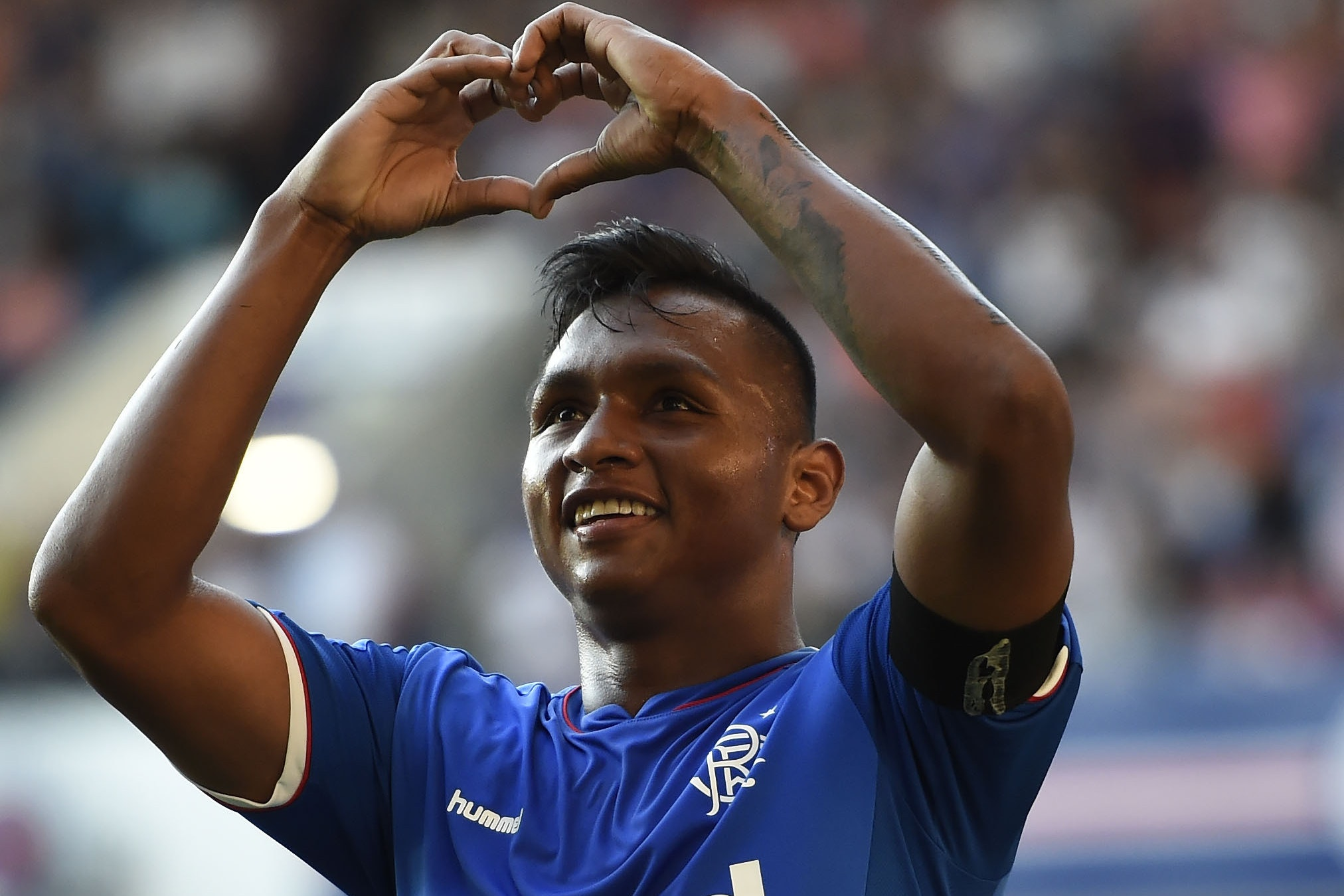 Alfredo Morelos has signed a new deal