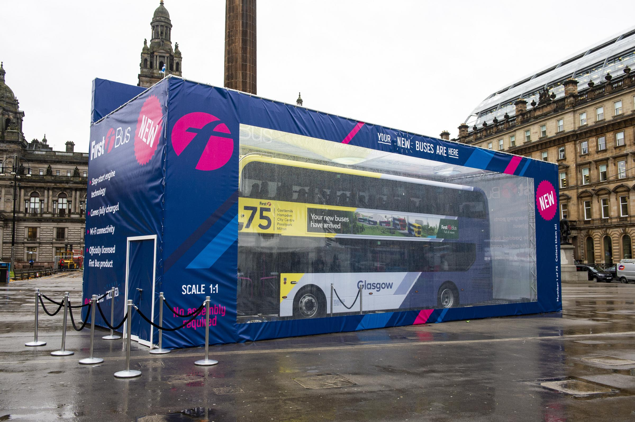 First Bus Launch New Low Emission Vehicles For City Routes