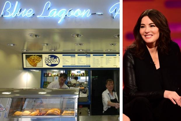 Red-faced Nigella: I was sent to a chippy by two Glaswegians - but everyone said it was the worst