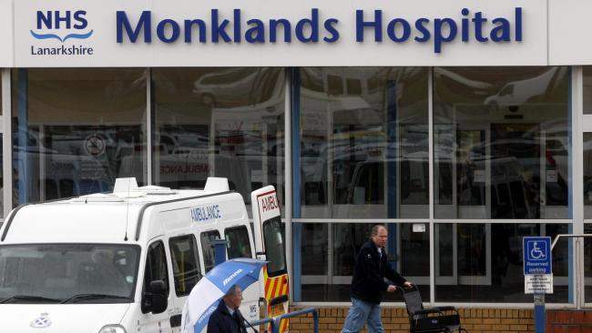 Monklands Hospital in Airdrie 'could close'