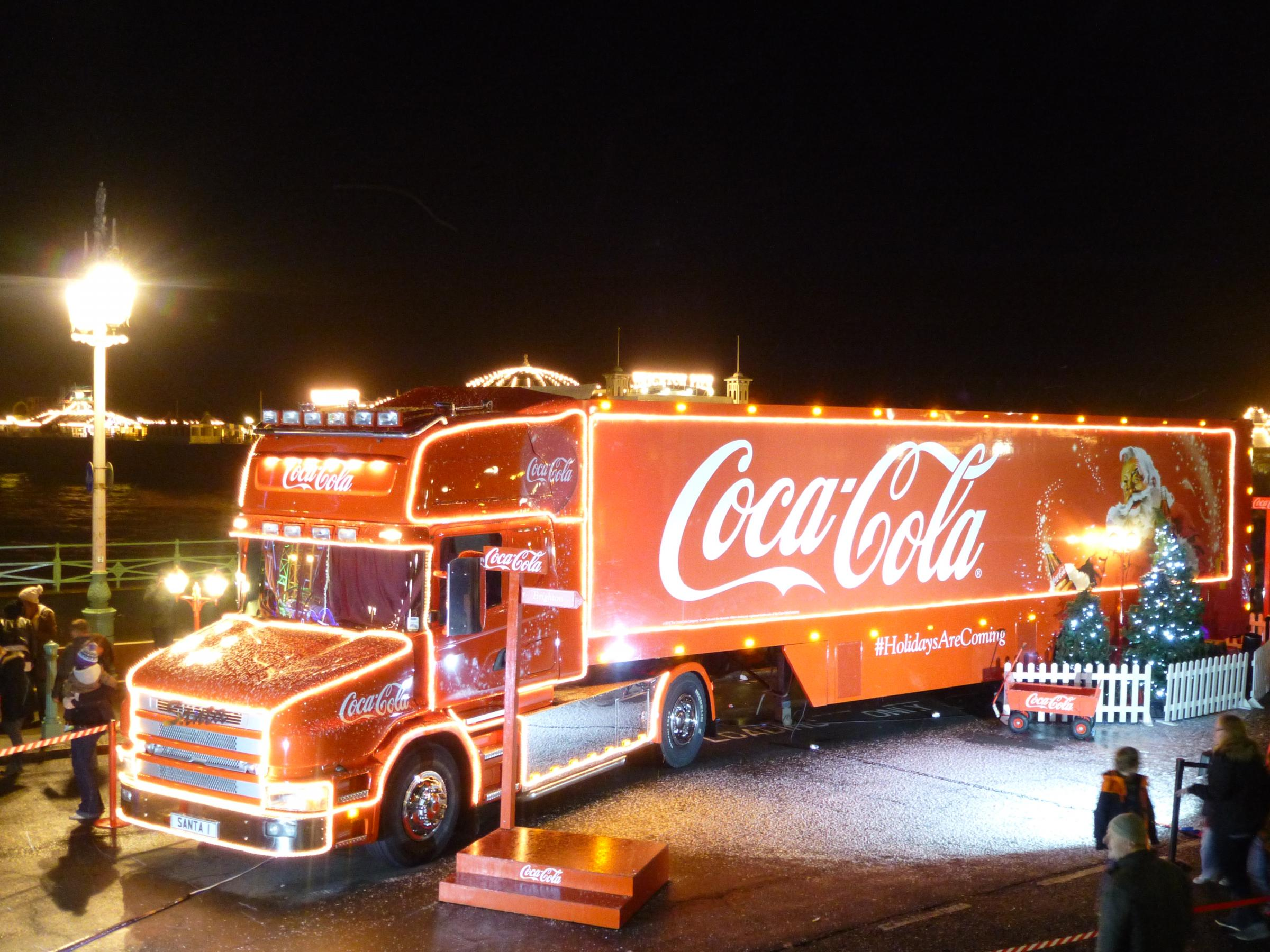 Truck event organized by Coca-Cola in Silverburn, praised by shoppers following last year's chaos