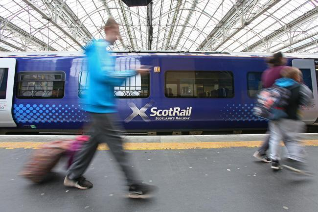 Chaos at Glasgow Central as trains cancelled