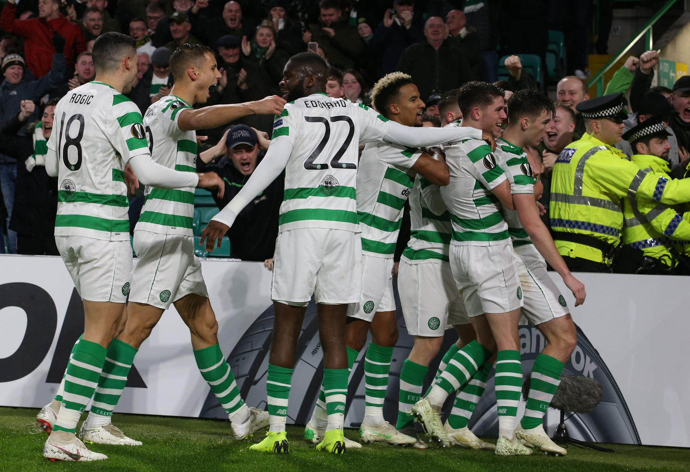Kieran Tierney was impressive in Celtic's win over RB Leipzig, scoring the winning goal.