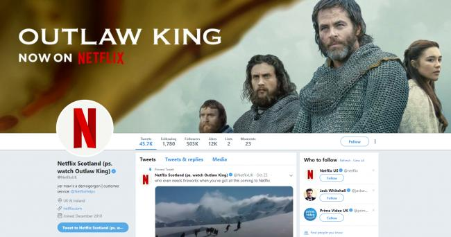 Netflix Twitter hilariously turns Scottish for new film | Evening Times