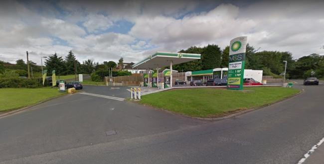 Man, 20, arrested after two fires at same Bearsden petrol station