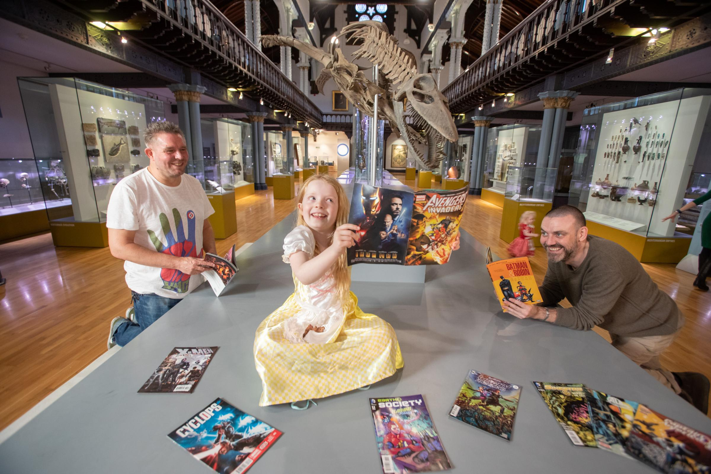 Night at the museum brings comic books to life