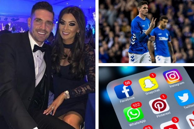 Wife of Rangers ace Kyle Lafferty breaks silence for first time since Snapchat naked pics scandal