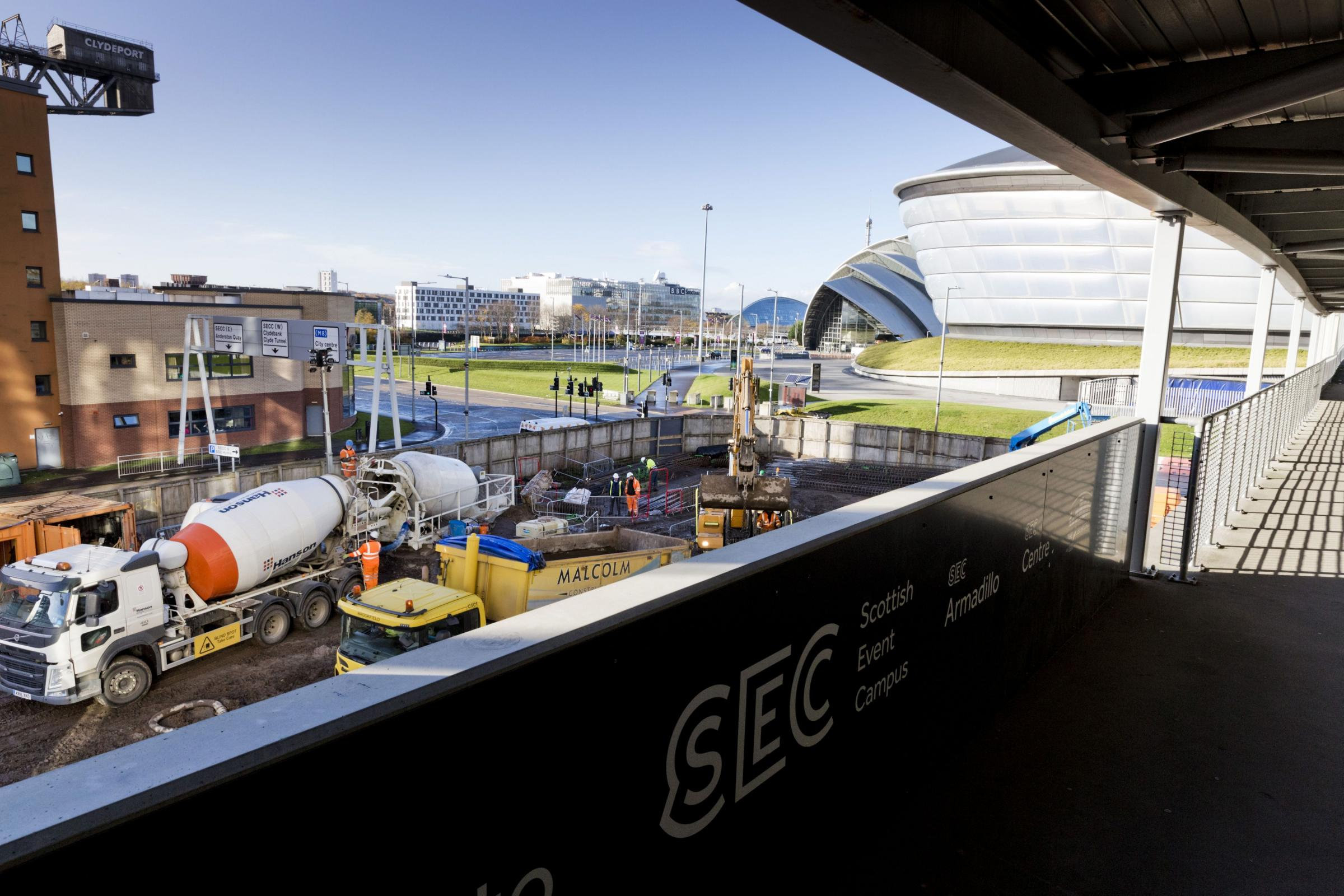 Work begins on two new hotels close to SSE Hydro to boost Glasgow economy
