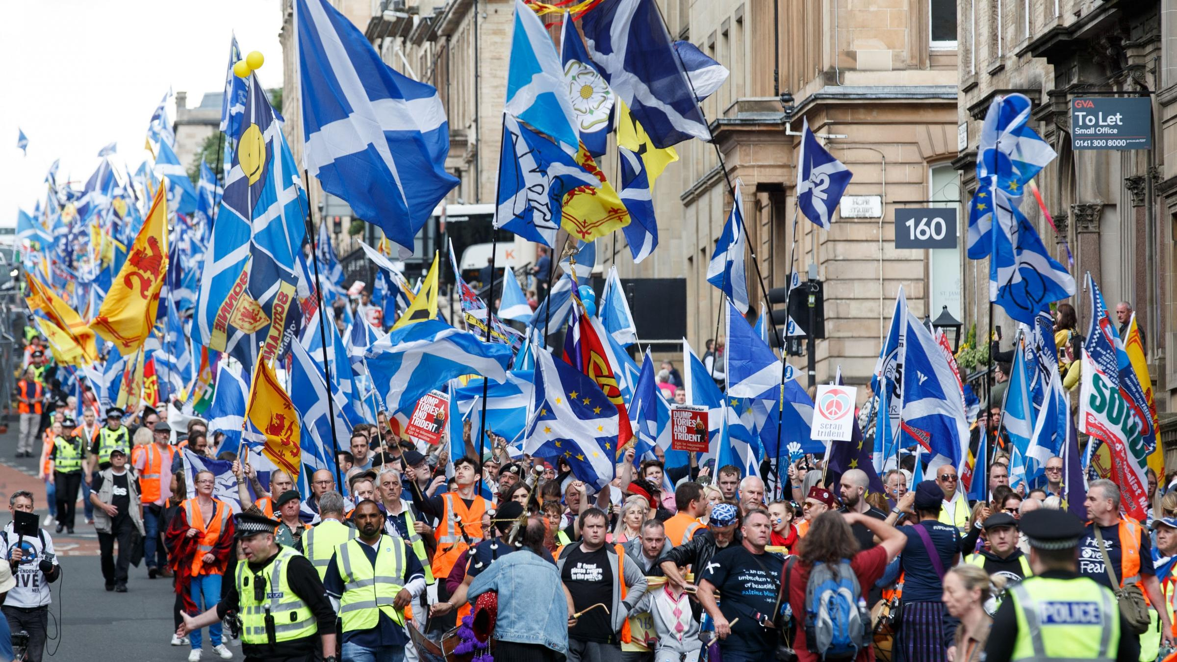 Revealed: Number of Scots who would vote to remain in UK in new referendum