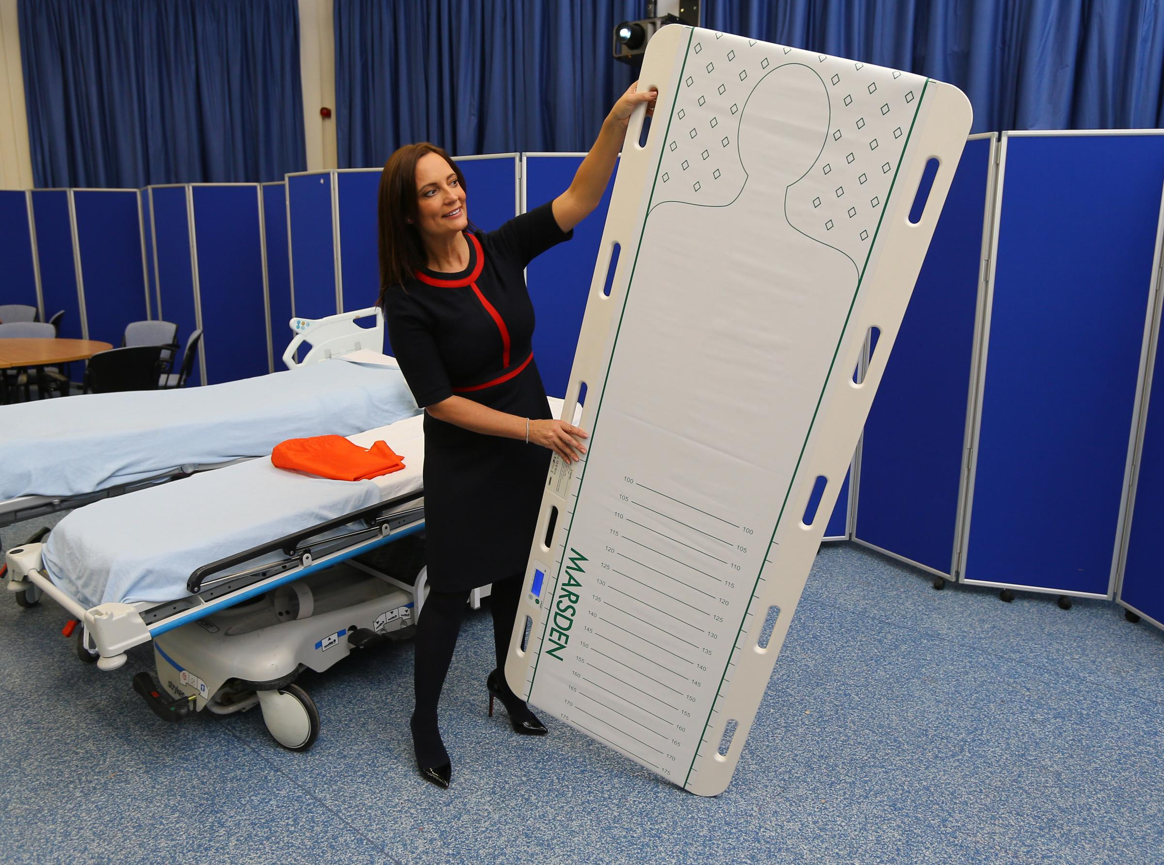 Scales invented by Lanarkshire nurse could be life-saving for seriously ill emergency patients
