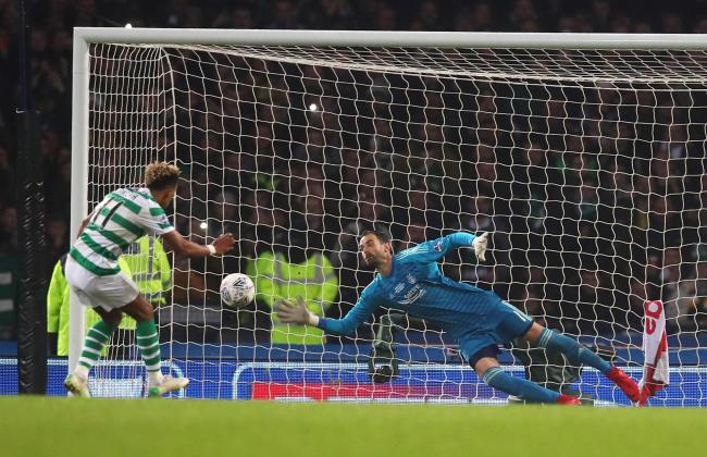 Scott Sinclair missed a penalty in Sunday's final