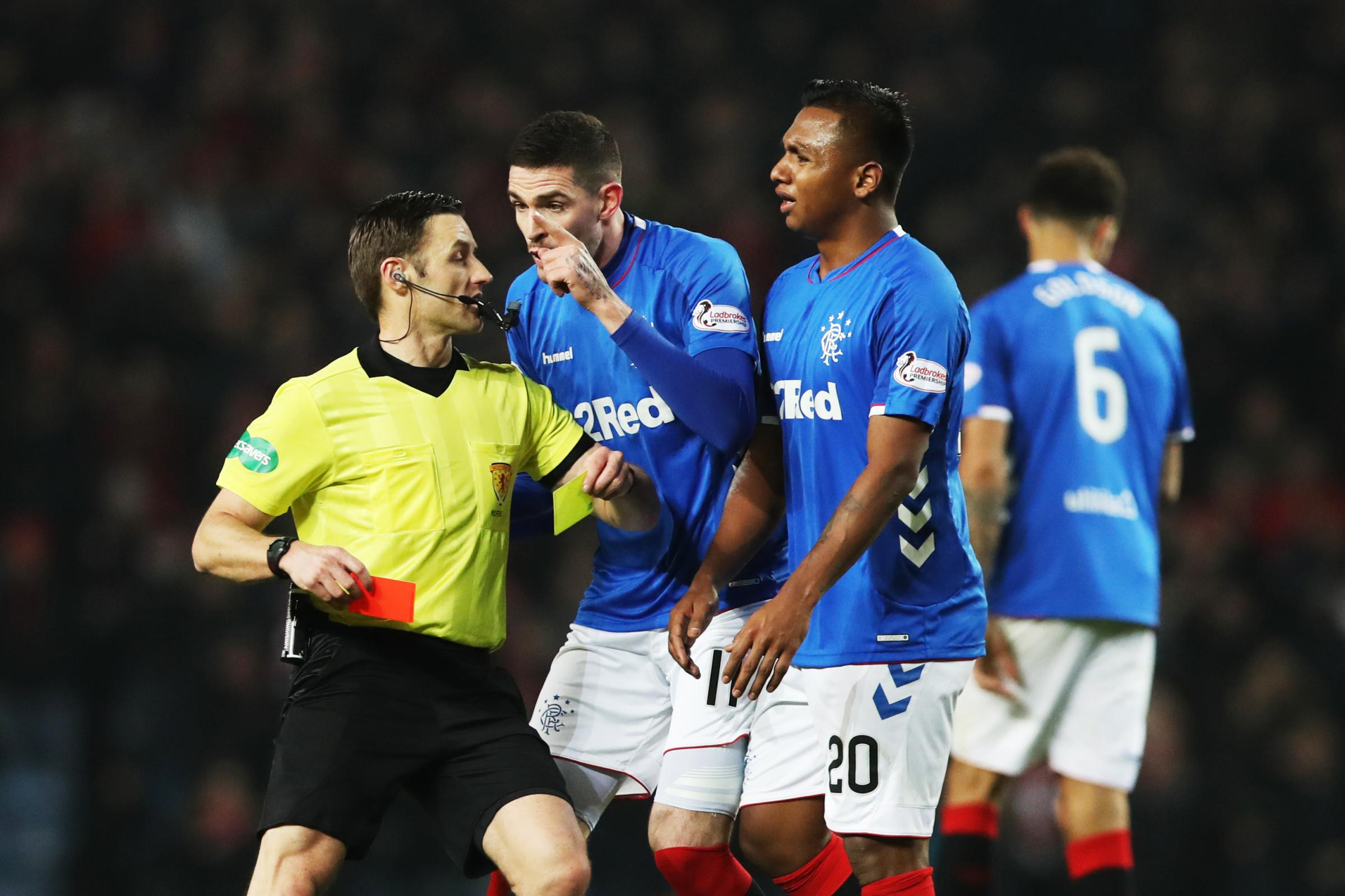 Rangers' red card record could cost them this term, says former Ibrox striker Billy Dodds