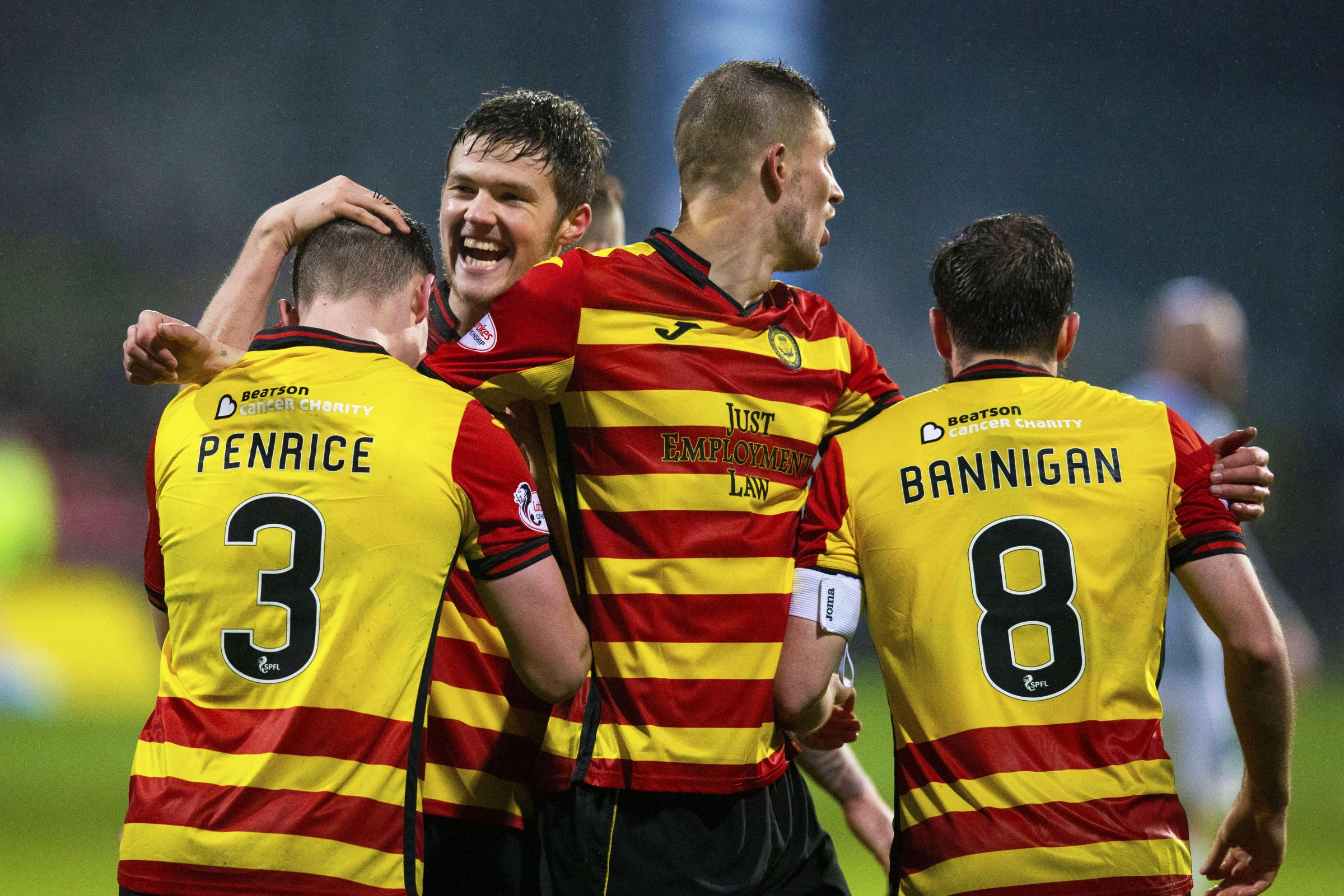With 'the monkey off the back', relieved Blair Spittal hopes Partick Thistle can climb the table