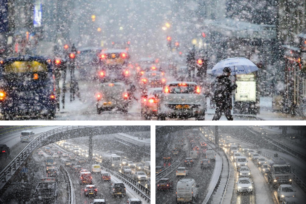 Police warn drivers of Christmas shopping travel chaos as city braces itself for blizzards