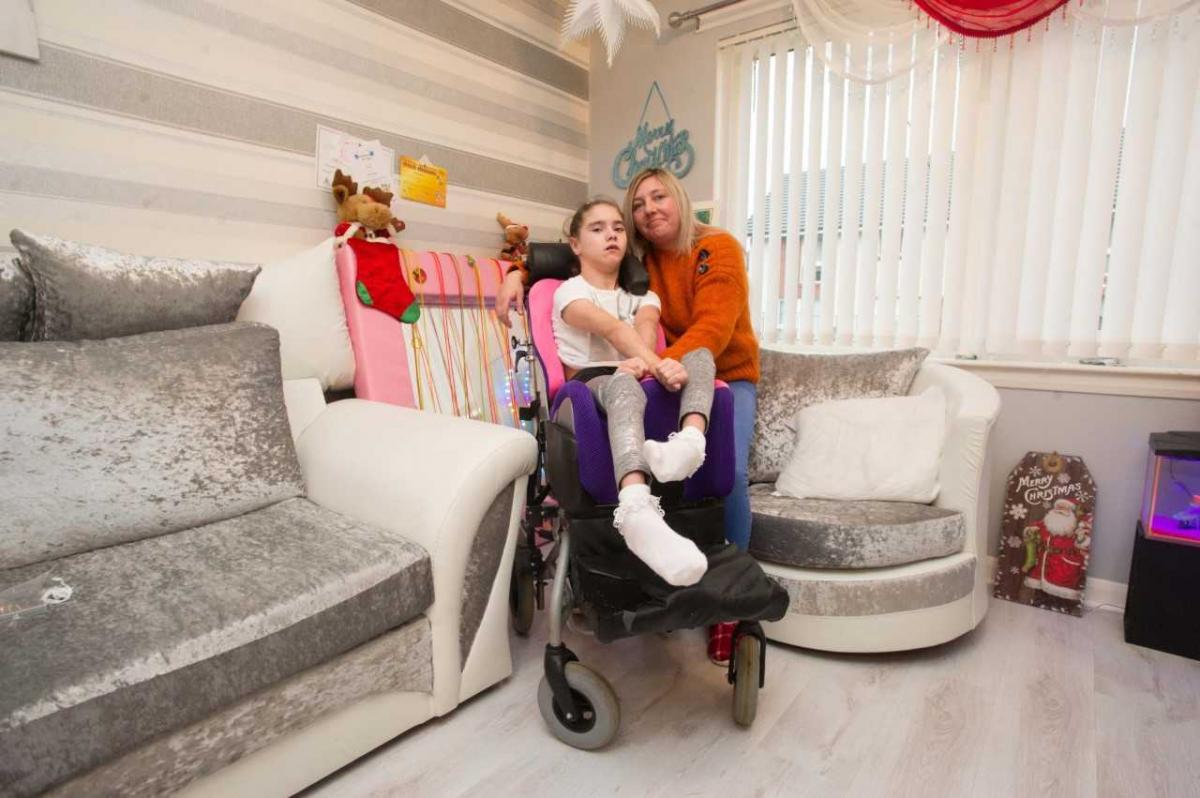 Parents of severely disabled schoolgirl launch campaign to help her lead a more independent life