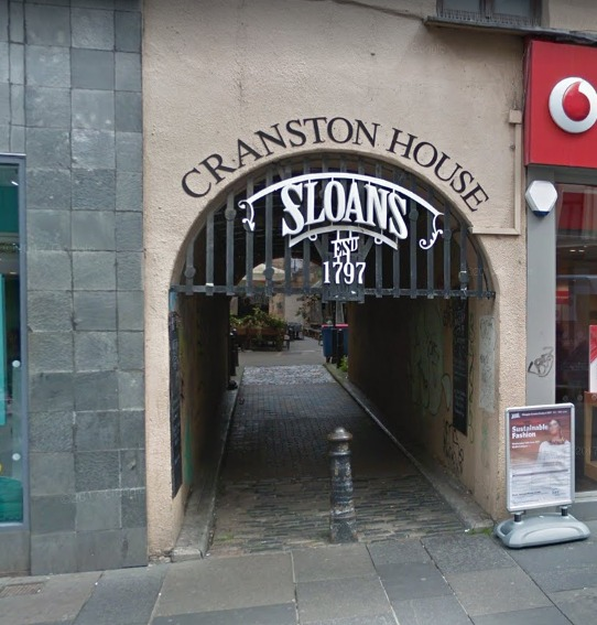 Sloan's has closed for a refurb