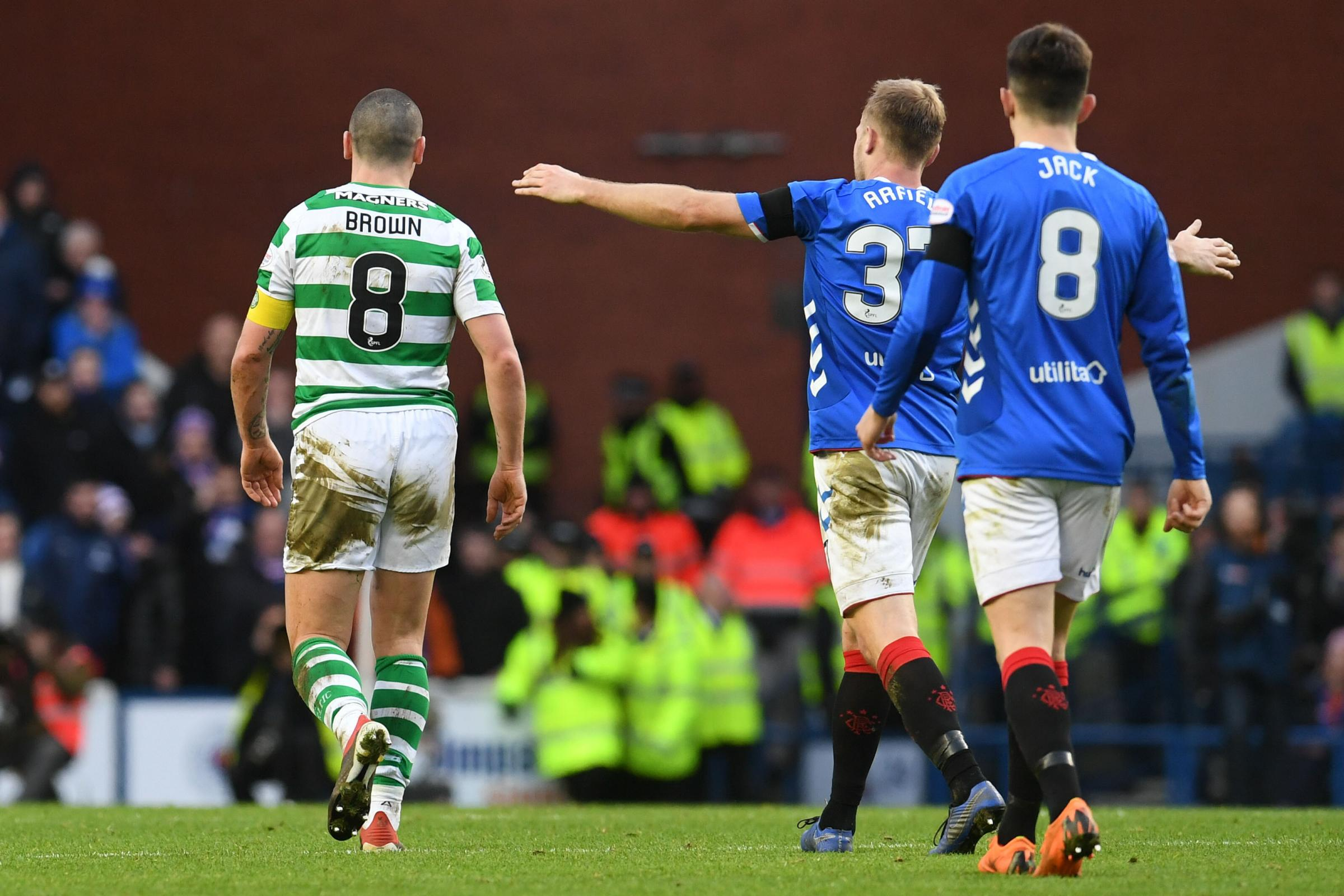 Scott Arfield on his 'Broony' celebration, his mentality and why he hasn't watched Rangers' Old Firm win back yet