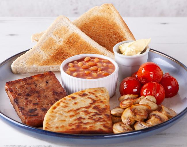 Enjoy a meat-free fry up at Rose & Grants