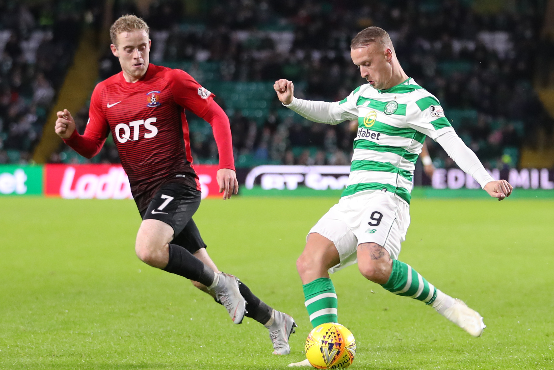 Davie Hay: Leigh Griffiths the most experienced striker at Celtic and can still come back from this
