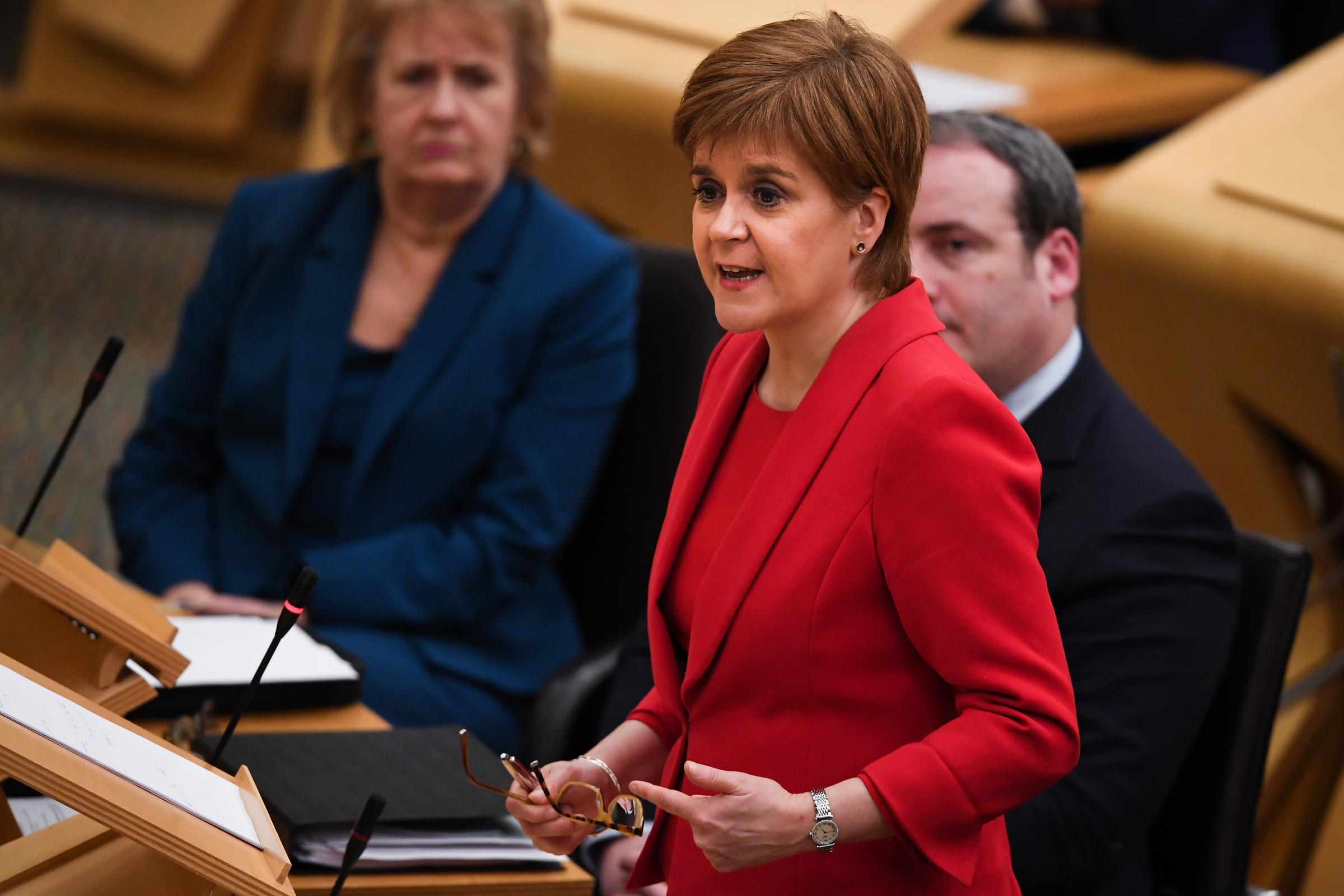 Nicola Sturgeon gives public statement on Alex Salmond charges