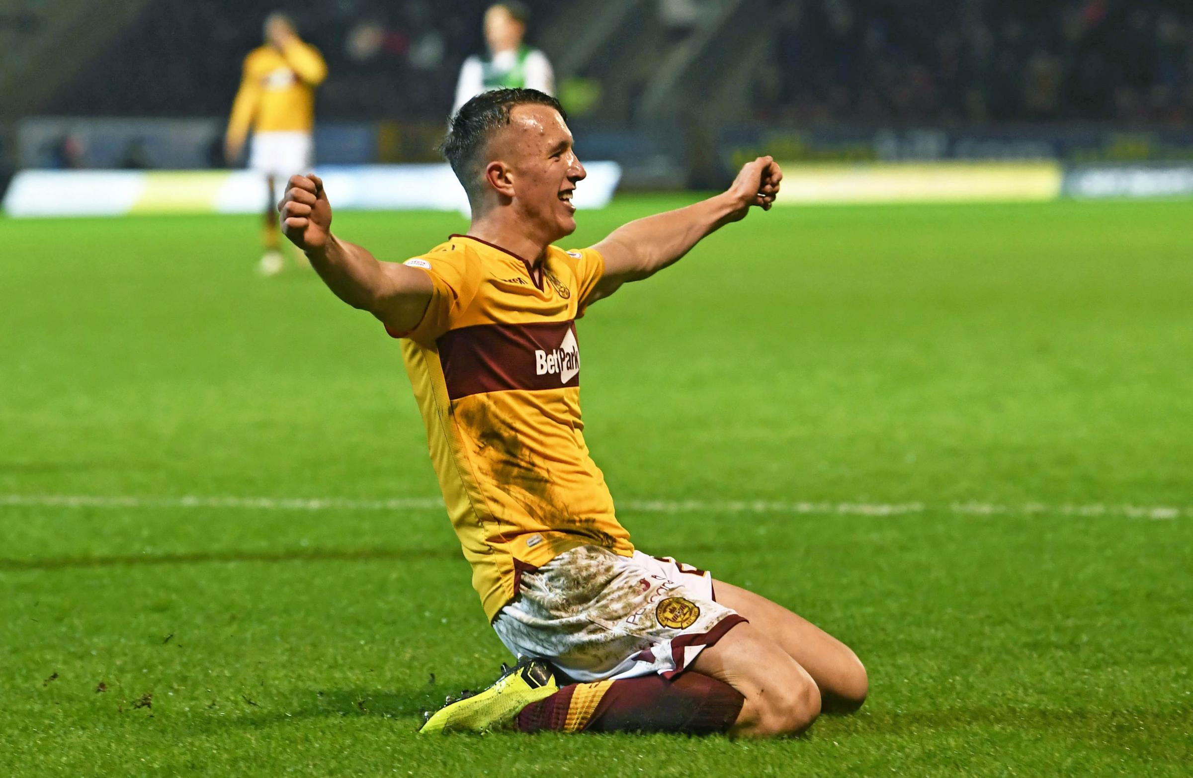 David Turnbull hopes to commit his future to Motherwell soon.