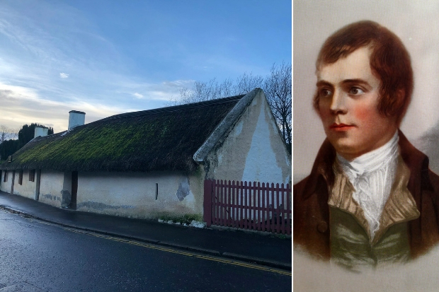 Cottage where Robert Burns was born at risk of being damaged beyond repair