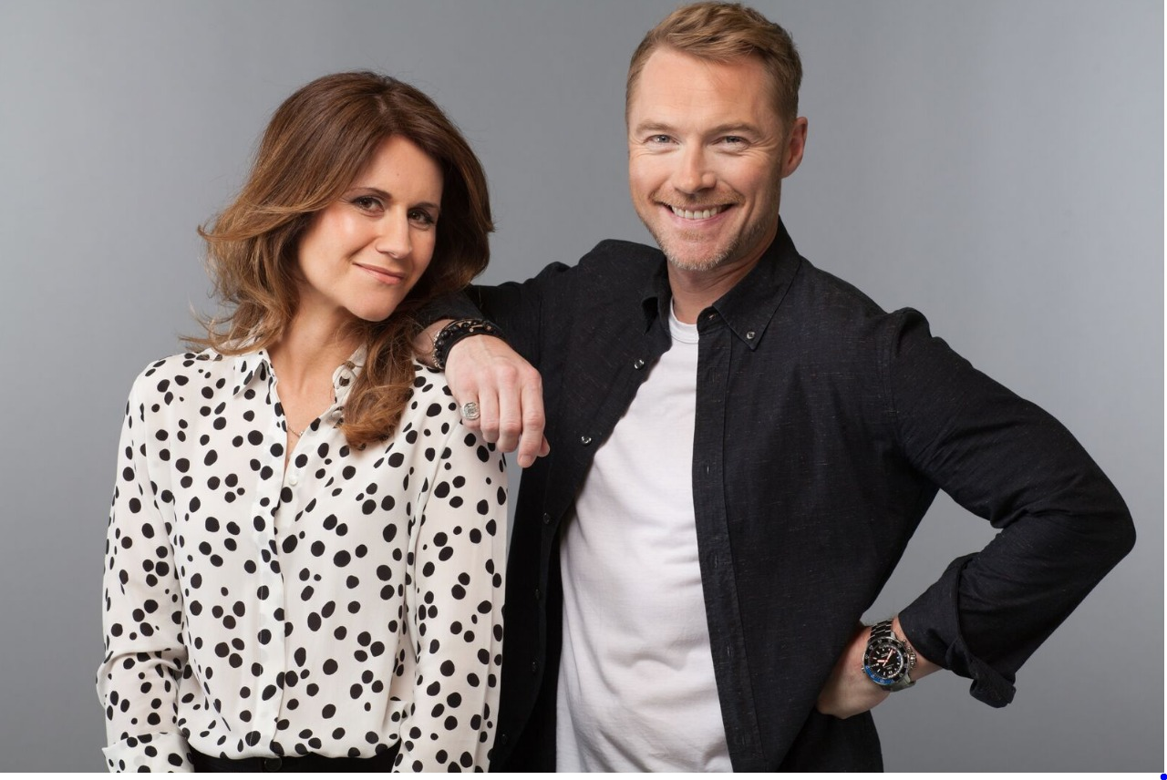 Harriet Scott and Ronan Keating
