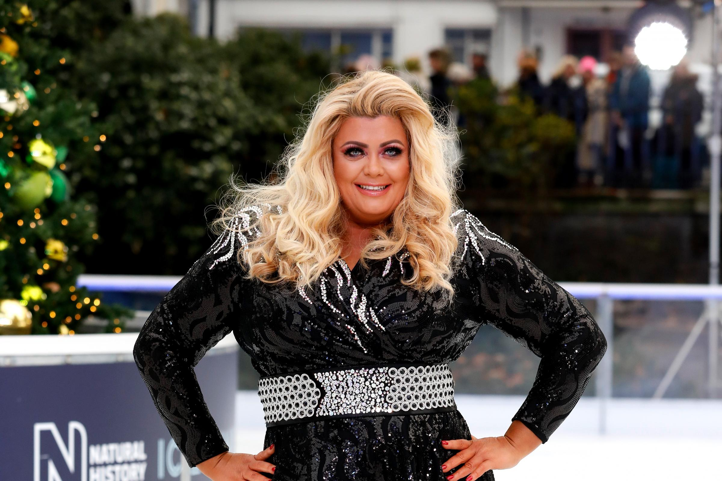Gemma Collins on Dancing on Ice 2018