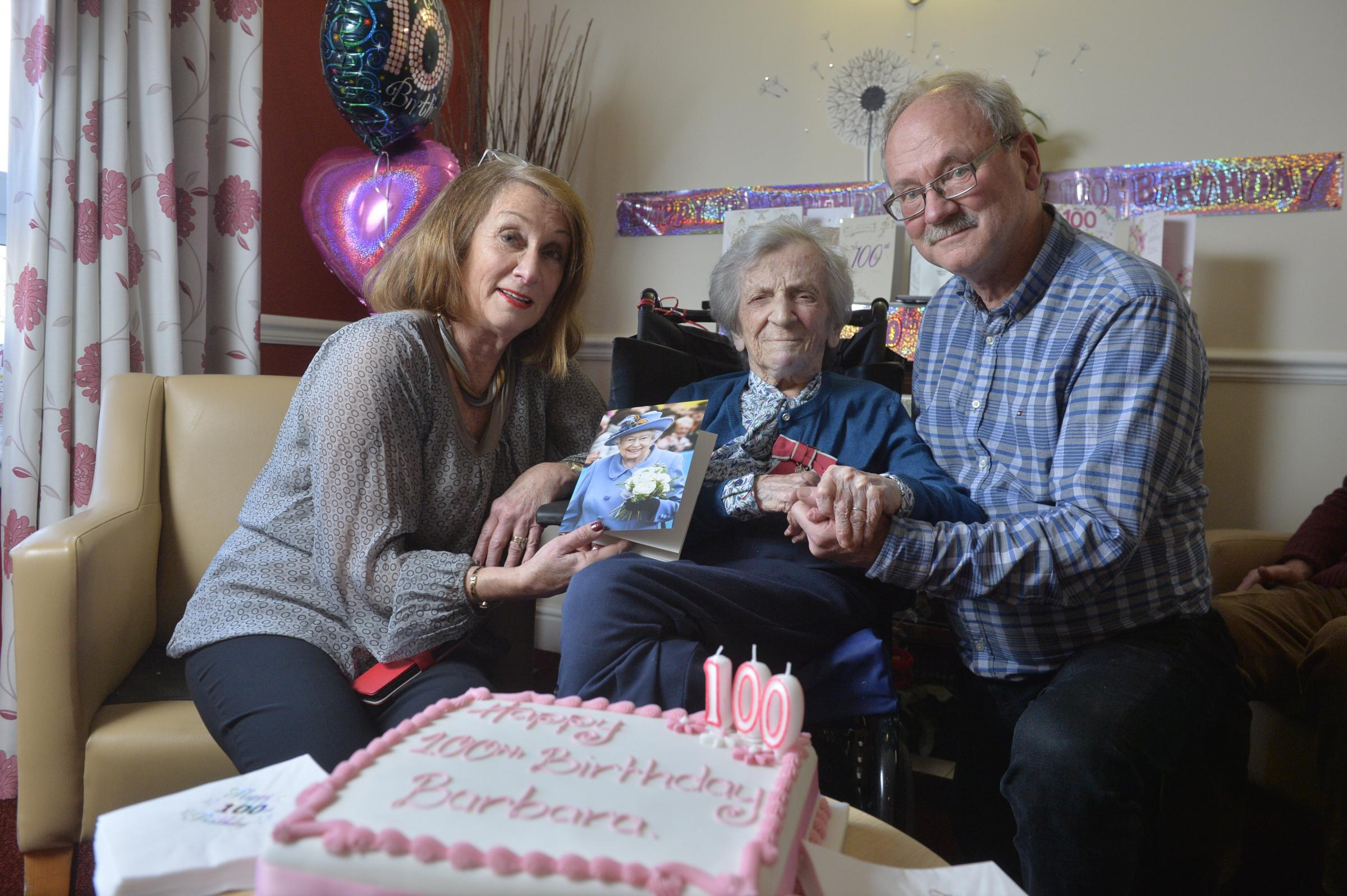 Barbara reveals secret of long life as she turns 100