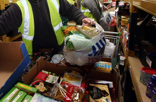 Revealed: Food parcels handed out every SIX minutes in Glasgow
