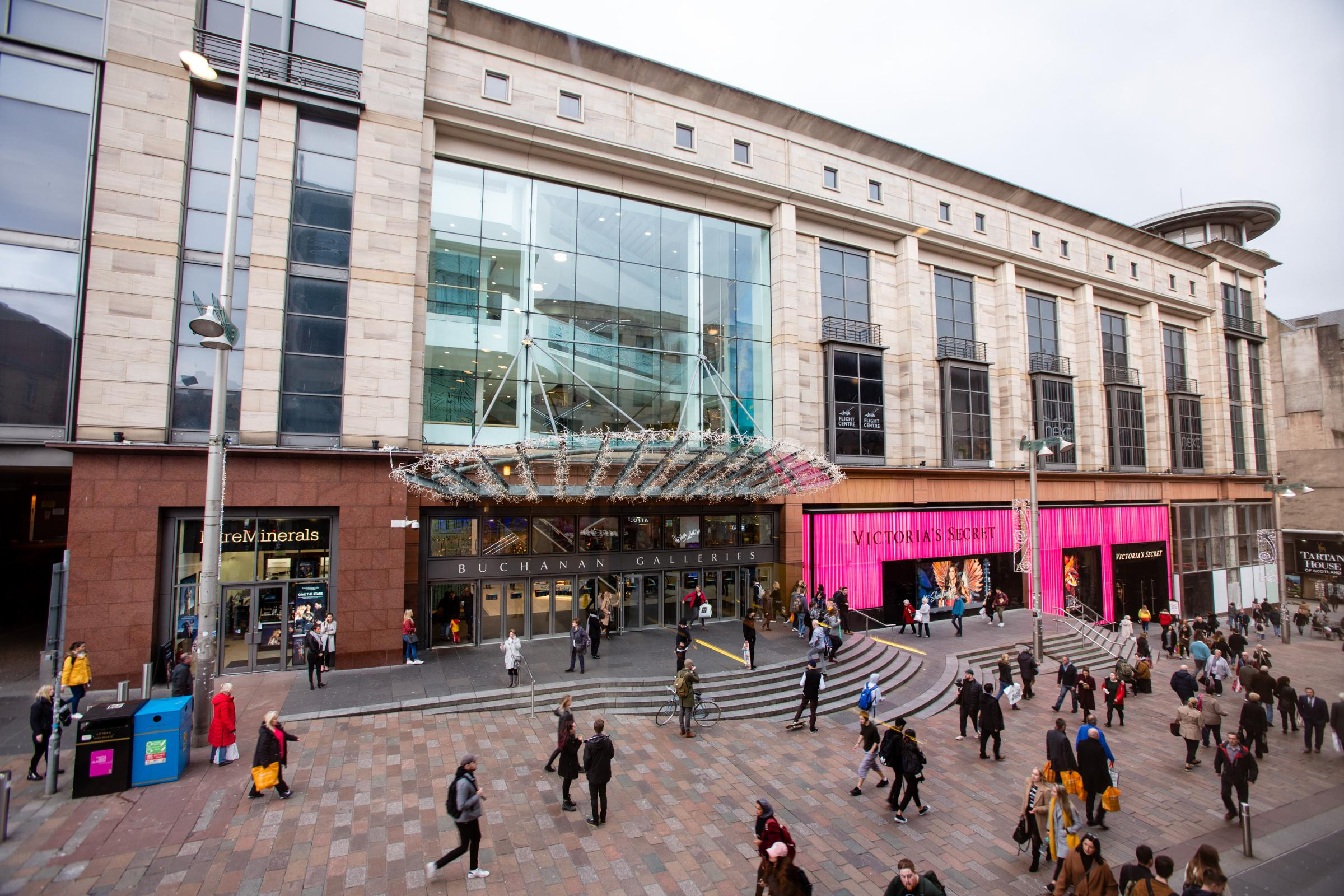 Buchanan Galleries to offer free sanitary products in fight against period poverty