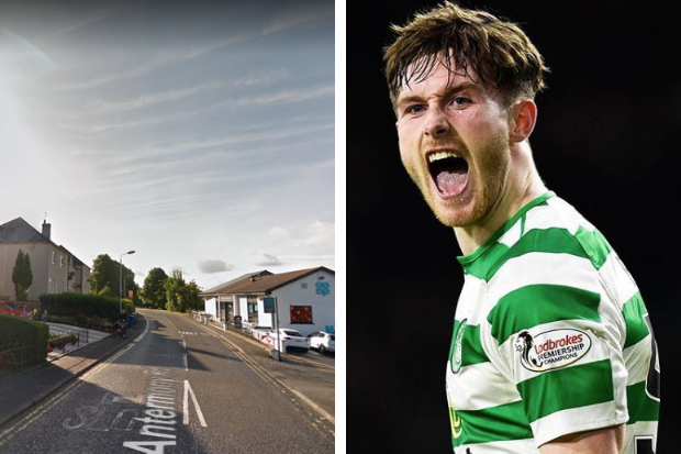 Celtic ace Anthony Ralston 'walks away from crash' that leaves man, 55, in hospital