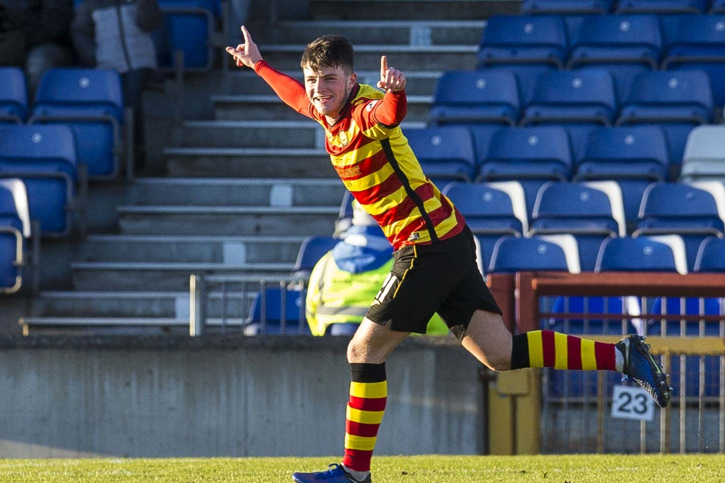 Aidan Fitzpatrick warns East Fife that Partick Thistle are a different proposition this time around