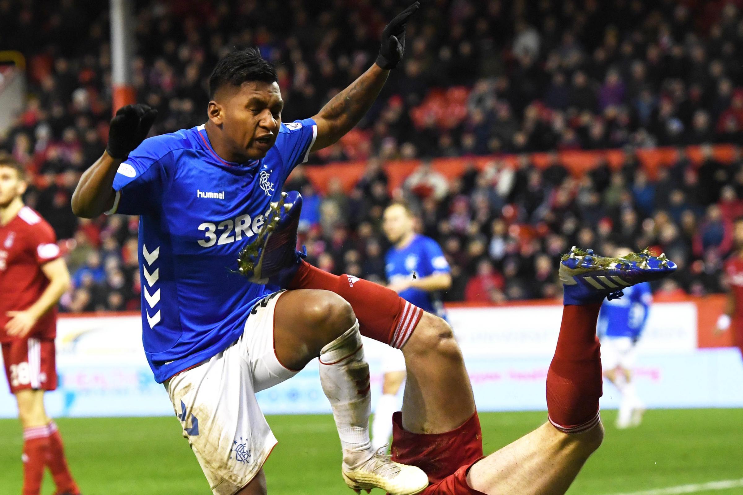 Rangers striker Alfredo Morelos loses red card appeal