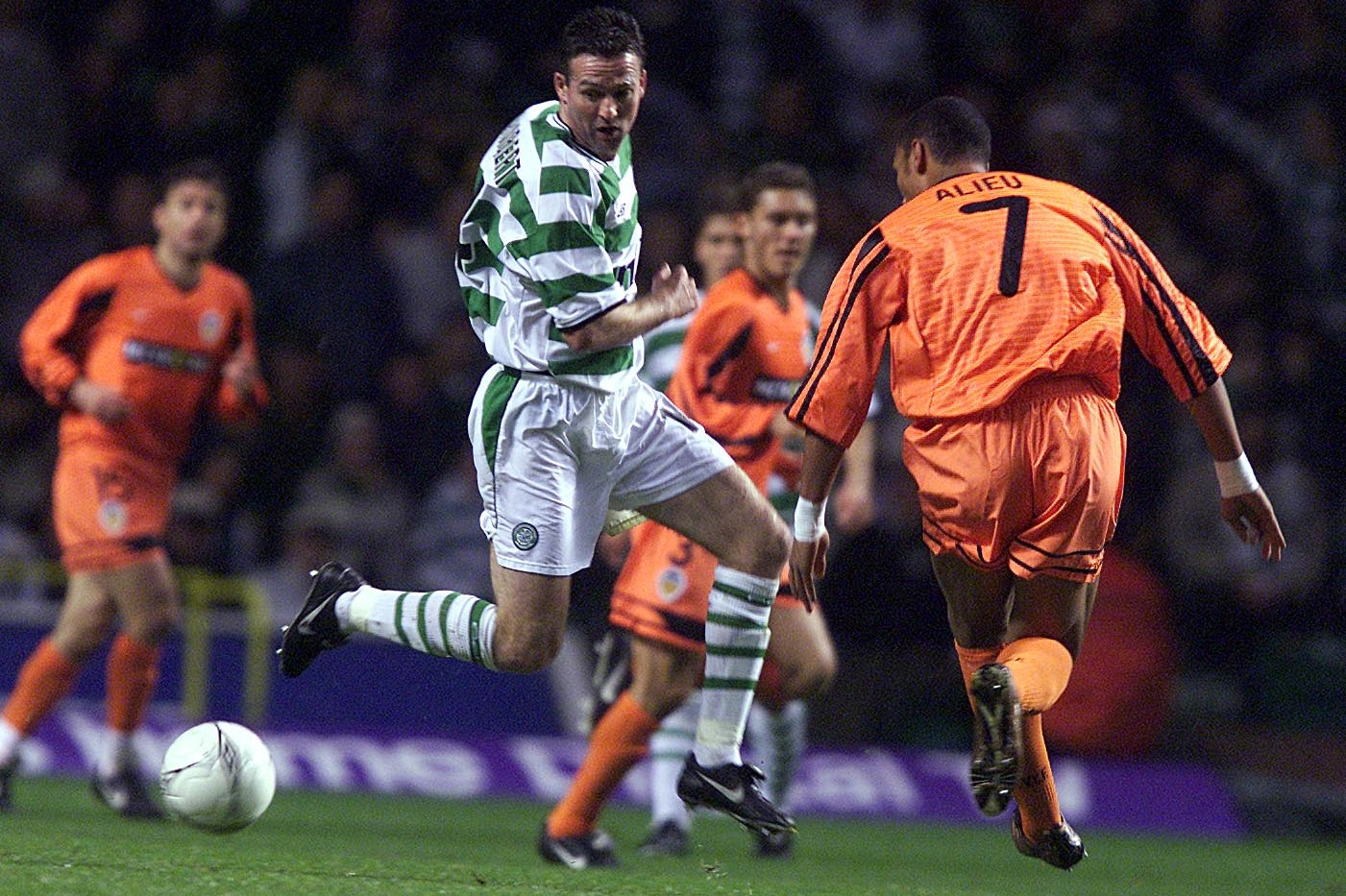 Paul Lambert: Celtic should embrace Valencia challenge and players need to be big enough to live up to the pressure