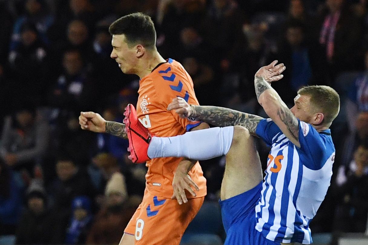 Rangers midfielder Scott Arfield reckons Alan Power didn't mean to hurt Ryan Jack in controversial challenge