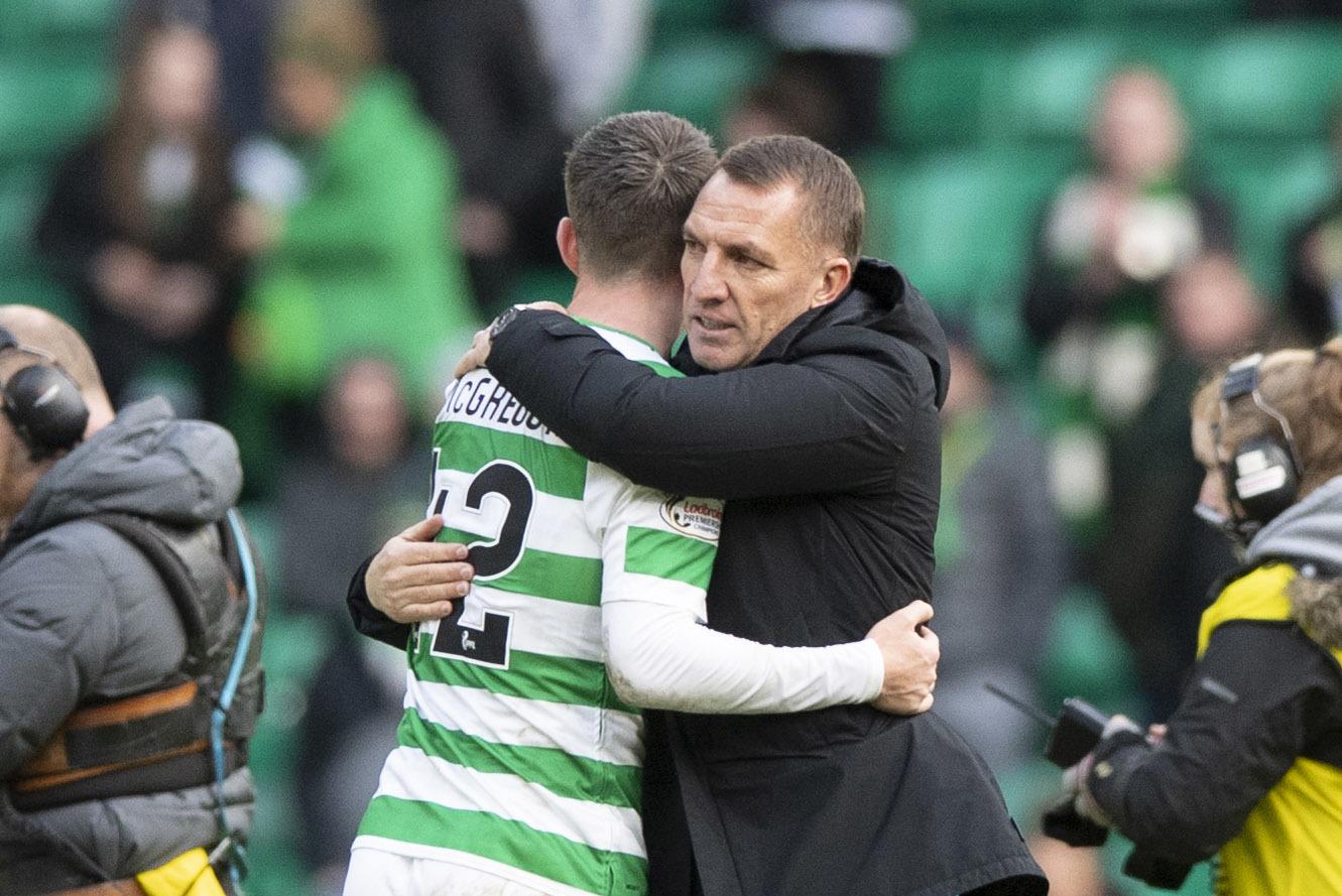 Brendan Rodgers: If Scotland can't produce brilliant young players then explain Callum McGregor