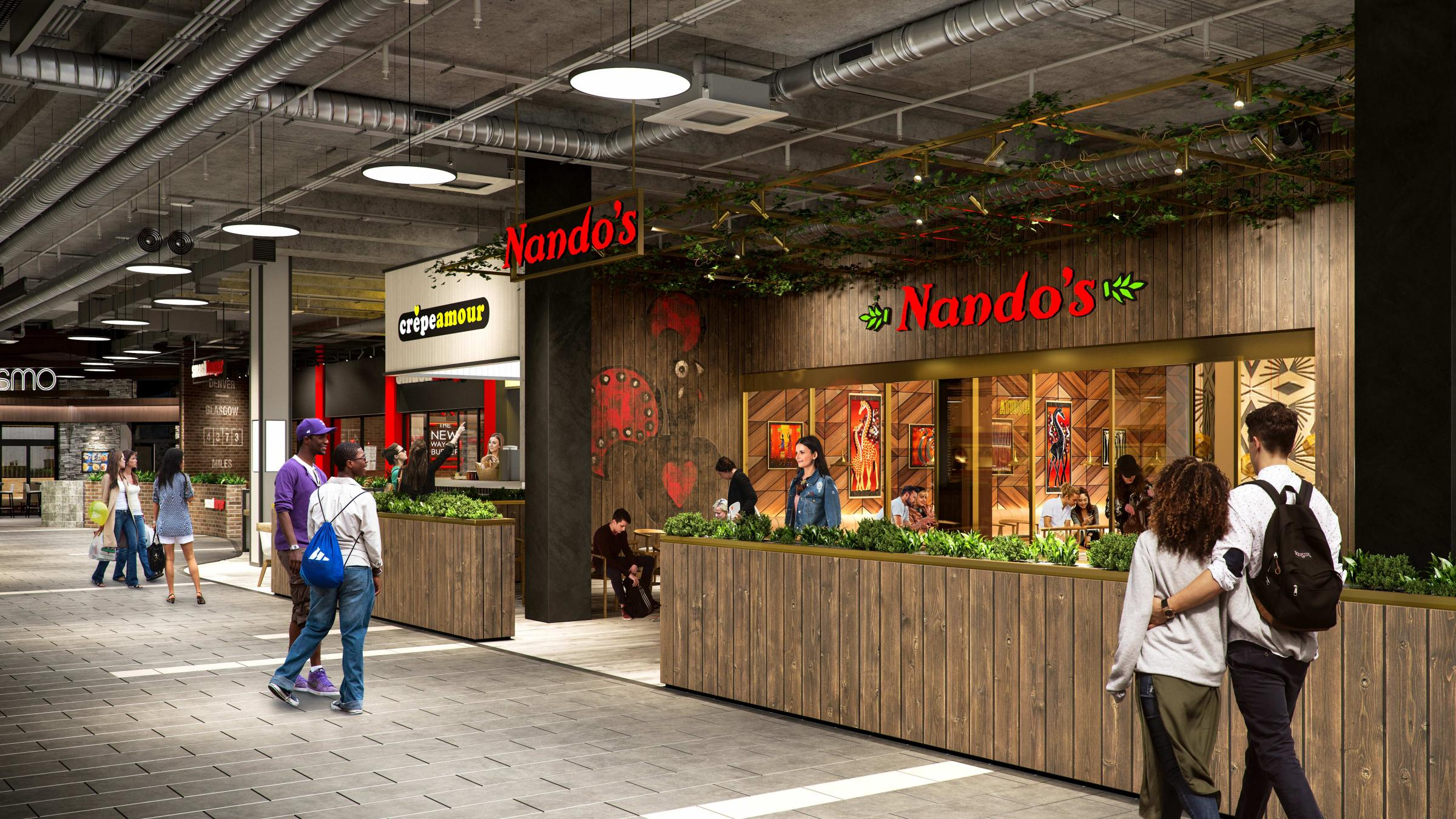 SECOND Nando's restaurant set for St. Enoch Centre in Glasgow