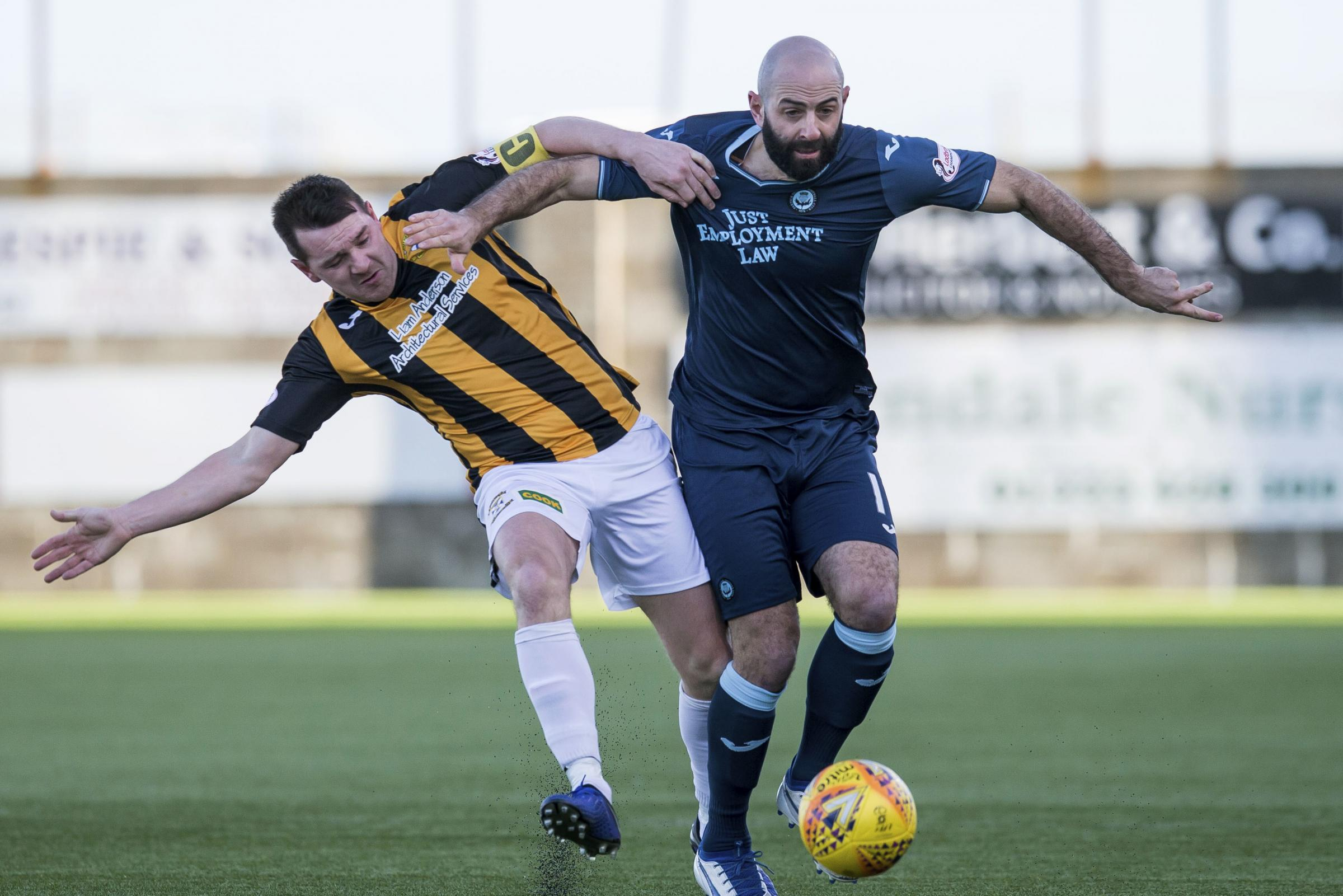 Gary Harkins determined to remain unbeaten in his second spell at Partick Thistle