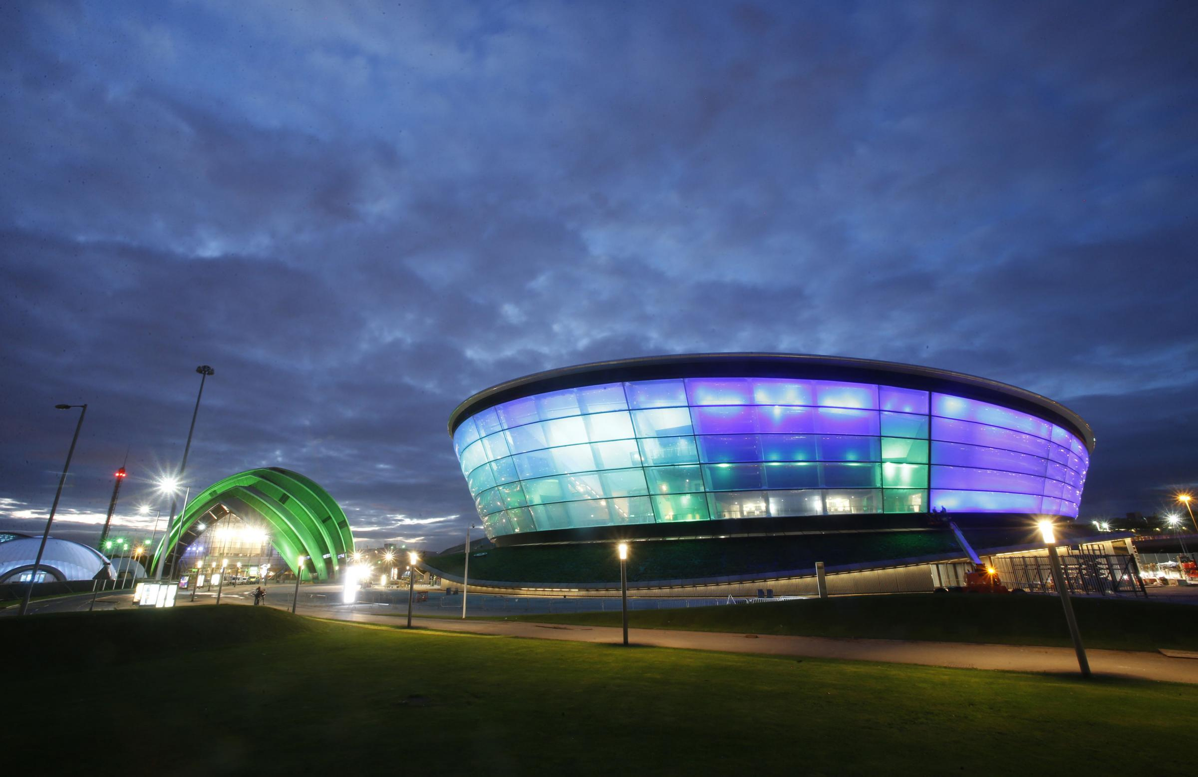 File photo dated 25/09/2013 of The SSE Hydro. PRESS ASSOCIATION Photo. Issue date: Wednesday July 9, 2014. The other centres on the campus are the SECC Exhibition Halls, Clyde Auditorium and The Hydro. See PA story SPORT Commonwealth Venues. Photo credit