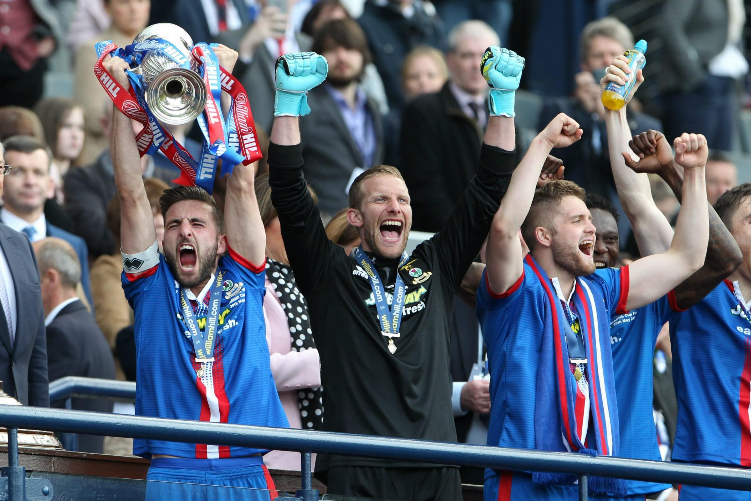 All four Scottish Cup quarter-finals will be shown live on television