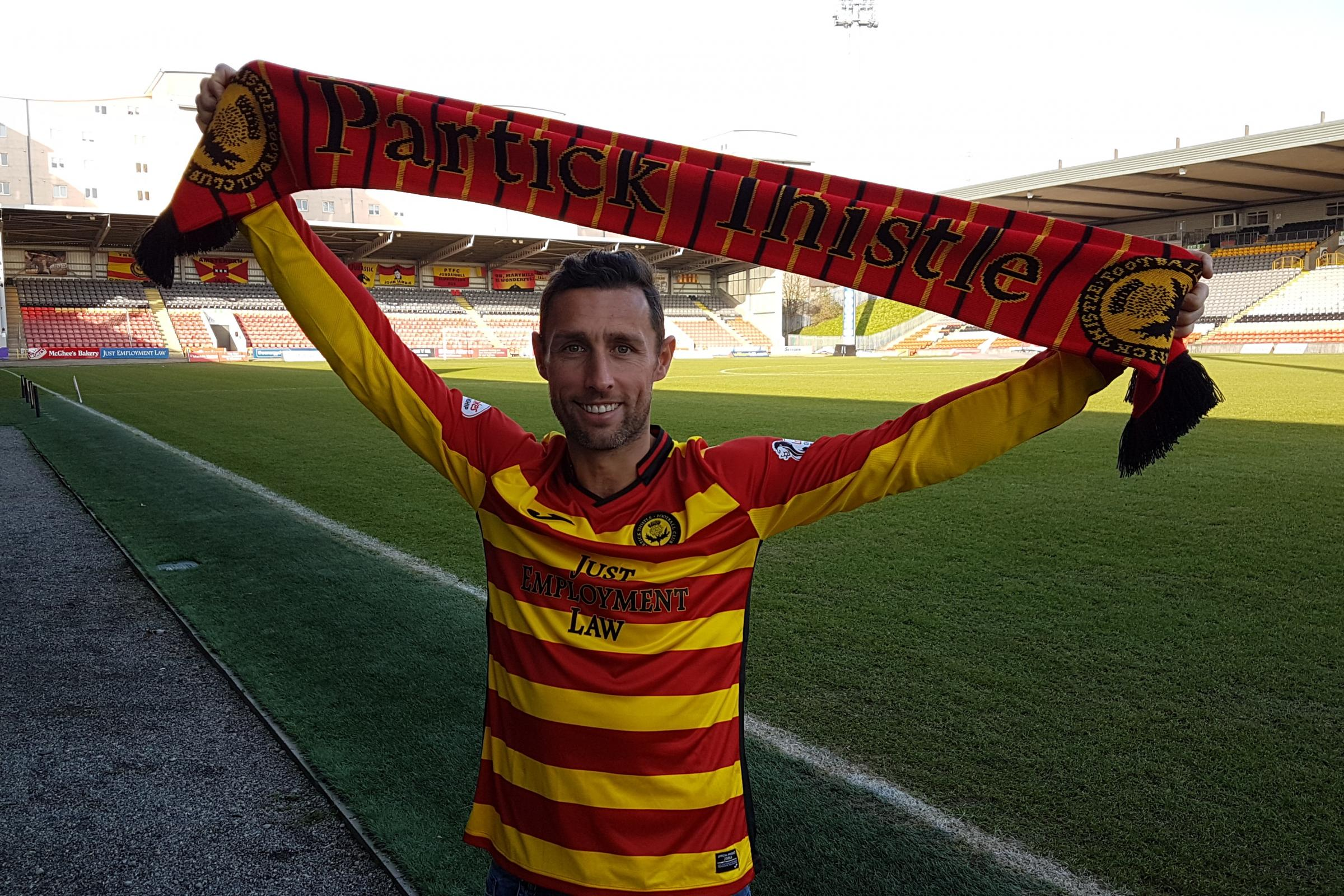 Scott McDonald says he is fit and raring to go for Partick Thistle despite lengthy lay-off