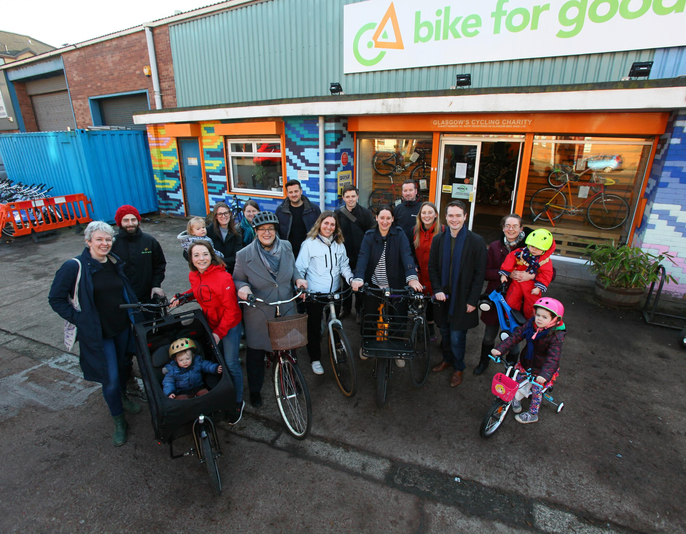 Ambitious plan to create Glasgow's first cycling village moves forward