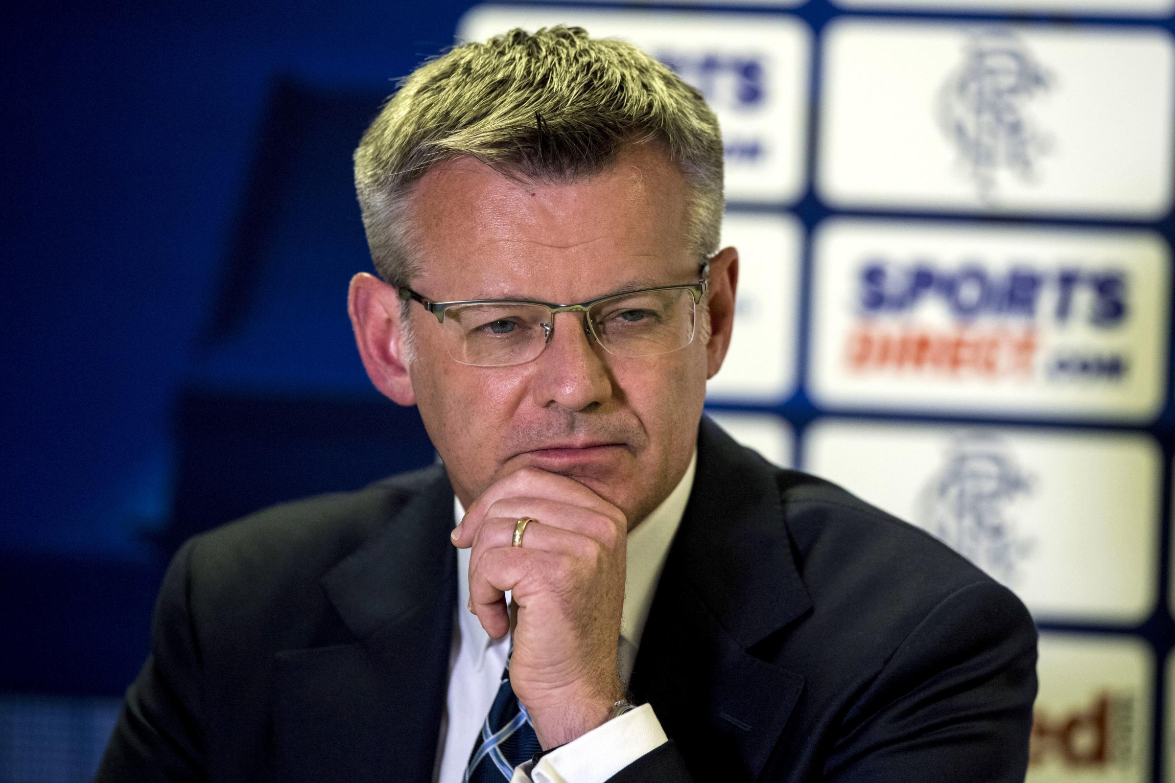 Q&A: Rangers Managing Director Stewart Robertson on Compliance Officer, trial by Sportscene and the BBC