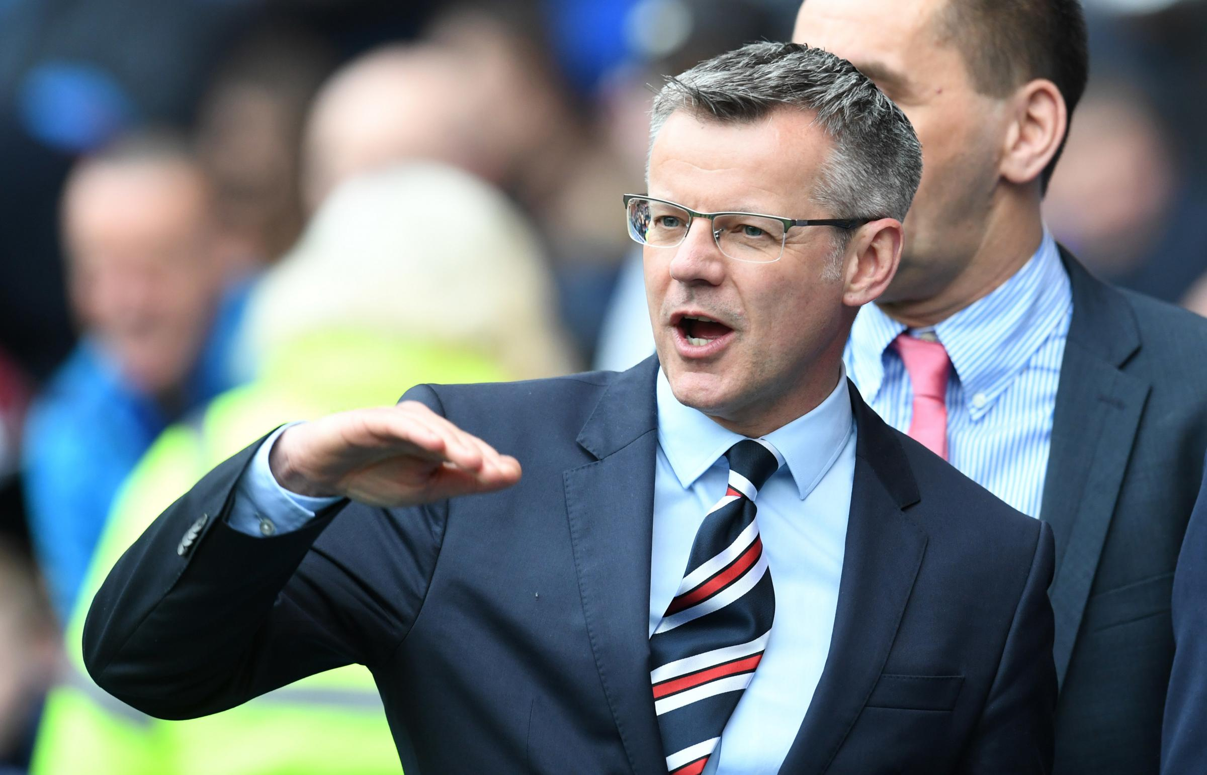 Rangers chief Stewart Robertson calls for SFA disciplinary changes and expresses concerns over 'trial by Sportscene'